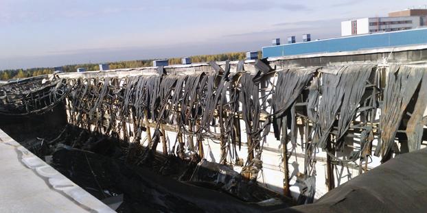 демонтажные работы в цеху компании Форд (Русский Дизель)